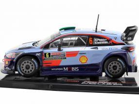 Hyundai i20 WRC #6 2nd Rally Australia 2018 Paddon, Marshall