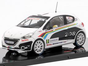 Peugeot 208 R2 #0 Tour de Corse 2012 Sarrazin, Veillas 1:43 Ixo