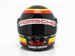 T. Bernhard Porsche 919 Hybrid WEC 2015 Tribute S. Bellof Memorial helmet 1:2 Schuberth