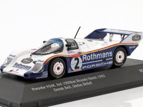 Porsche 956K #2 3rd 1000km Brands Hatch 1983 Bellof, Bell 1:43 CMR