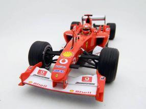 M. Schumacher Ferrari F2003-GA formula one 2003 1:18 HotWheels