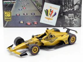 Mario Andretti 50th Anniversary Indy 500 Champion 1969 Dallara Universal Aero Kit 1:18 Greenlight