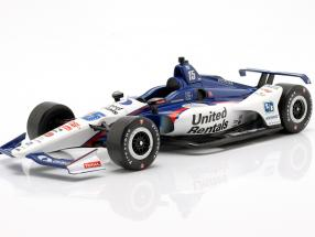 Graham Rahal Honda #15 Indycar Series 2019 Rahal Letterman Lanigan Racing 1:18 Greenlight