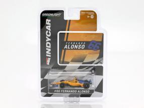 Fernando Alonso Chevrolet #66 Qualifying Indy 500 2019 McLaren Racing 1:64 Greenlight