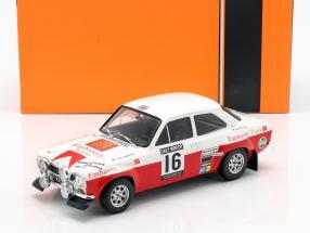 Ford Escort RS 1600 Mk1 #16 5th RAC rally 1971 Mäkinen, Liddon 1:18 Ixo
