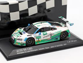 Audi R8 LMS #2 ADAC GT Masters 2017 Schmidt, Haase 1:43 Minichamps