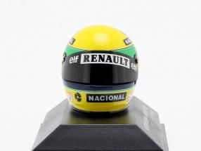 Ayrton Senna Williams FW16 #2 San Marino GP Formel 1 1994 Helm 1:8 Minichamps