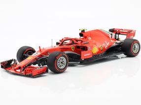 Kimi Räikkönen Ferrari SF71H #7 6th Canadian GP formula 1 2018 1:18 BBR
