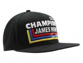 James Hunt Cap Silverstone #11 British GP World Champion Formel 1 1976 schwarz