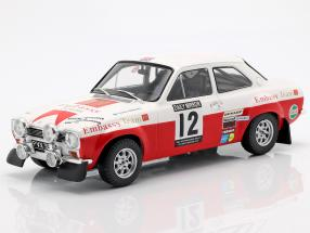 Ford Escort RS 1600 Mk1 #12 4th RAC Rallye 1971 Mikkola, Palm 1:18 Ixo