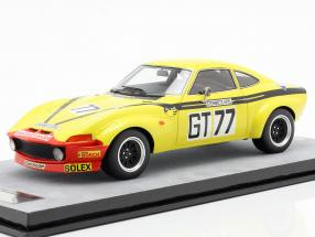 Opel GT 1900 #77 Class Winner 1000km Nürburgring 1972 Christmann, Ragnotti 1:18 Tecnomodel