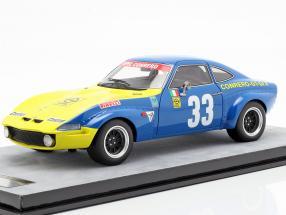 Opel GT 1900 #33 Targa Florio 1972 Facetti, Beaumont 1:18 Tecnomodel