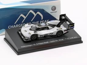 Volkswagen ID.R #94 Pikes Peak Record June 24th, 2018 7:57.148 min Romain Dumas 1:87 Spark