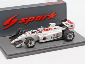 Pascal Fabre AGS JH22 #14 San Marino GP Formel 1 1987 1:43 Spark