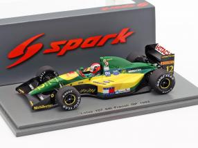 Johnny Herbert Lotus 107 #12 6th Frankreich GP Formel 1 1992 1:43 Spark