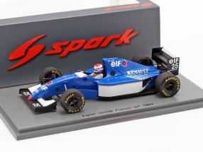 Eric Bernard Ligier JS39B #25 French GP formula 1 1994 1:43 Spark