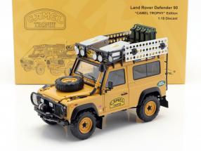Land Rover Defender 90 Camel Trophy Edition gelbbraun 1:18 Almost Real