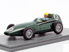 Jose Froilan Gonzalez Vanwall VW2 #18 British GP Formel 1 1956 1:43 Spark