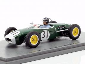 Jim Clark Lotus 18 #31 Winner Oulton Park Formula Junior 1960 1:43 Spark