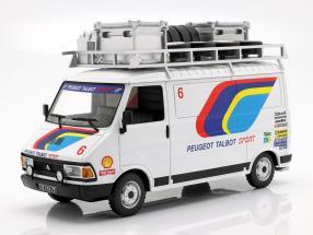 Citroen C35 Peugeot Talbot Sport Rallye Assistance Baujahr 1985 weiß 1:18 Ixo