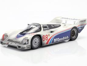 Porsche 962 IMSA #68 Winner Riverside 1985 Halsmer, Morton Dirty version 1:18 Norev