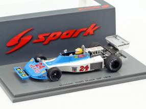 Harald Ertl Hesketh 308D #24 Dutch GP formula 1 1976 1:43 Spark