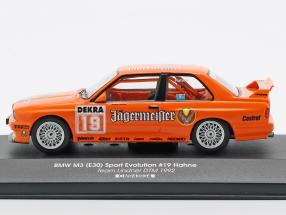 BMW M3 (E30) Sport Evolution #19 DTM 1992 Armin Hahne