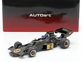 Ronnie Peterson Lotus 72E #2 formula 1 1973 with driver figure 1:18 AUTOart