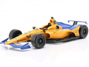 Fernando Alonso Chevrolet #66 IndyCar Series 2019 Qualifying McLaren Racing 1:18 Greenlight