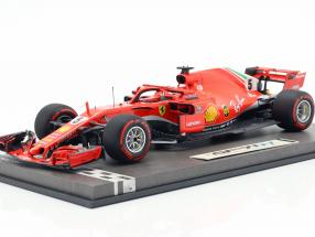 S. Vettel Ferrari SF71H #5 50th GP Win Winner Canada GP formula 1 2018 1:18 BBR