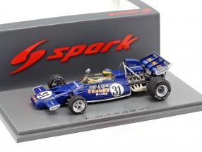 David Hobbs McLaren M19A #31 USA GP Formel 1 1971 1:43 Spark