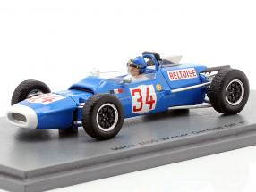 Jean-Pierre Beltoise Matra MS5 #34 Winner Germany GP formula 2 1966 1:43 Spark