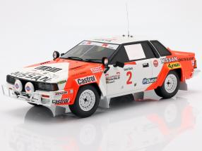 Nissan 240 RS #2 Rallye Safari 1984 Mehta, Combes 1:18 OttOmobile