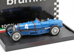 Rene Dreyfus Bugatti Type 59 #4 Winner Belgium GP formula 1 1934 1:43 Brumm