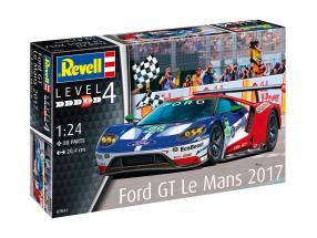 Ford GT #66 24h LeMans 2017 Ford Chip Ganassi Team UK Bausatz 1:24 Revell