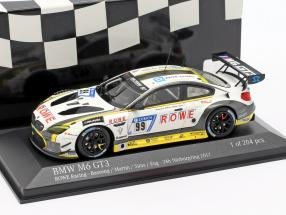 BMW M6 GT3 #99 24h Nürburgring 2017 Basseng, Martin, Sims, Eng 1:43 Minichamps