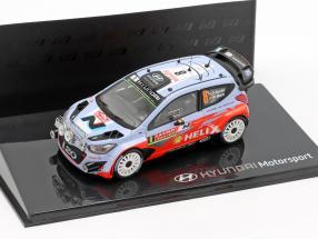 Hyundai i20 WRC #8 Rallye Monte Carlo 2014 Sordo, Marti 1:43 Ixo