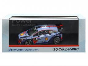Hyundai i20 Coupe WRC #5 Winner Rallye Tour de Corse 2017 Neuville, Gilsoul