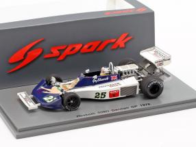 Guy Edwards Hesketh 308D #25 German GP formula 1 1976 1:43 Spark