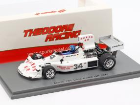Hans-Joachim Stuck March 761 #34 Long Beach GP formula 1 1976 1:43 Spark