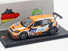 Volkswagen VW Golf GTI TCR #174 24h Nürburgring 2017 Mathilda Racing 1:43 Spark