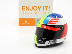 Mick Schumacher Benetton B194 #5 Demo Run GP Spa F1 2017 helmet 1:2 Schuberth