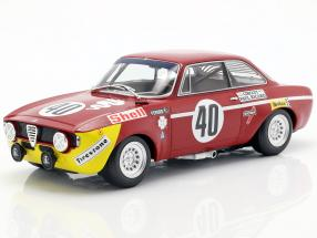 Alfa Romeo GTA 1300 Junior #40 Winner Div.1 12h Paul Ricard 1971 1:18 Minichamps