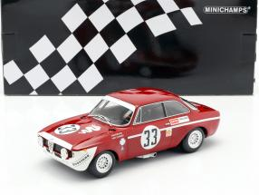Alfa Romeo GTA 1300 Junior #33 Winner Div.1 4h Jarama 1972 1:18 Minichamps