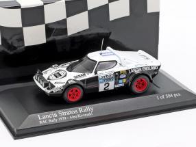 Lancia Stratos #2 RAC Rally 1979 Alen, Kivimaki 1:43 Minichamps