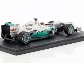 M. Schumacher Mercedes AMG W03 last Race GP Brazil formula 1 2012