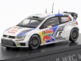 Volkswagen VW Polo R WRC #9 Rally Monte Carlo 2014 Mikkelsen 1:43 Spark