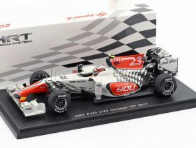 V. Liuzzi HRT F111 #23 GP China Formel 1 2011 1:43 Spark
