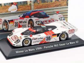 Dauer Porsche 962 #36 Winner 24 LeMans 1994 Dalmas / Haywood / Baldi 1:43 Spark
