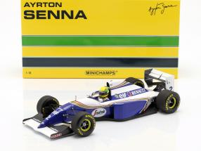 Ayrton Senna Williams FW16 #2 Brazilian GP formula 1 1994 1:18 Minichamps